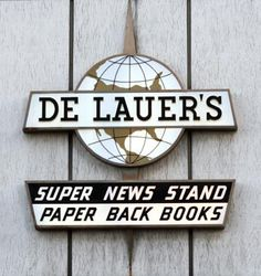 Established in 1907, Oakland's De Lauer's news stand at 13th Street and Broadway is open 24 hours every day.