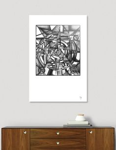 Discover «Compass», Limited Edition Acrylic Glass Print by Ulug Doschan - From $75 - Curioos