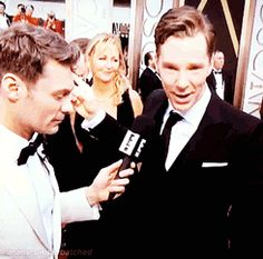 Stop it Benedict. You are too adorable