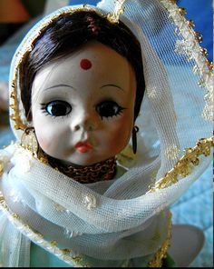 Madame Alexander Dolls of the World  India by VintageDoLLBabys, $38.00