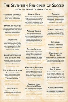 Quotes Sayings and Affirmations New Formal Design! Content from the original 17 Principles Poster redesigned using sophisticated typography on a light marble background. Full-color by poster explaining Self Development, Personal Development, Professional Development, Leadership Development, Life Skills, Life Lessons, Success Poster, Team Success, Self Improvement Tips
