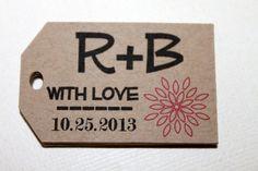 Wedding tag!