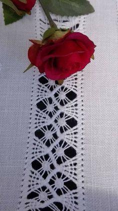 Needle Tatting, Needle Lace, Bobbin Lace, Basic Embroidery Stitches, Hardanger Embroidery, Embroidery Patterns, Bordado Popular, Crochet Twist, Drawn Thread