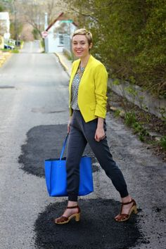 Bright colours @ bureau of chic | uncomplicated style for the 9 to 5 #workwear #officefashion
