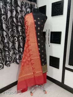 Suits & Dress Materials Nia Stylish Banarasi Polycotton Women's Suits & Dress Materials Top Fabric: Polycotton + Top Length: 2.01-2.25 Mtr Bottom Fabric: Polycotton + Bottom Length: 2.26-2.50 Mtr Dupatta Fabric: Polycotton + Dupatta Length: 2.01-2.25 Mtr Type:  Pattern: Woven Design Multipack: Single Country of Origin: India Sizes Available: Un Stitched   Catalog Rating: ★4.1 (618)  Catalog Name: Nia Stylish Banarasi Polycotton Women'S Suits & Dress Materials Vol 18 CatalogID_624714 C74-SC1002 Code: 167-4352541-7302