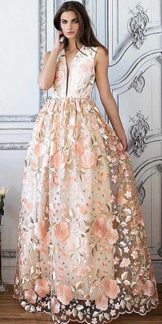 floral bridal gowns 6