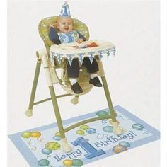 Highchair decorations