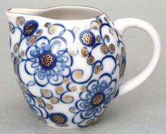 Lomonosov Porcelain Creamer Bindweed