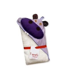 Another gift idea - Organic Hooded Towel