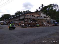 Pembangunan pasar Babrik. Tempuran. Street View