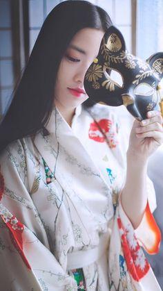 Japanese Beauty, Japanese Fashion, Asian Fashion, Asian Beauty, Japanese Kimono, Japanese Girl, Geisha Art, Poses References, Japanese Aesthetic