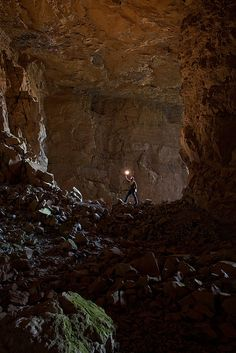Bowden, WV cave by fsmphoto, via Flickr