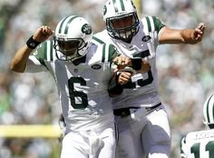 """Jake Steinberg - """"Fantastic pic of Sanchez and Tebow celebrating after a play. Note to media that tried to make them enemies: You Failed!"""" (September 9, 2012 game vs Buffalo)"""