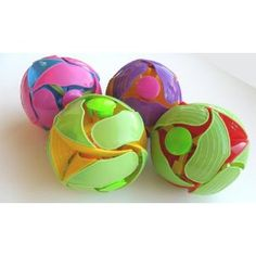 These balls that are an excellent way for people of all ages to improve coordination & dexterity. For the entire family or team.