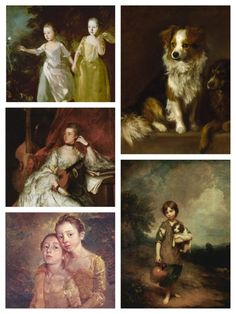 """Born May 14, 1727, Thomas Gainsborough """"was one of the most popular British artists of the 18th century,"""" according to historians. """"Though much of Gainsborough's income came from painting portraits, his real passion was for landscapes."""" Learn more and view a slideshow of 371 paintings at: http://www.bbc.co.uk/arts/yourpaintings/artists/thomas-gainsborough-658"""