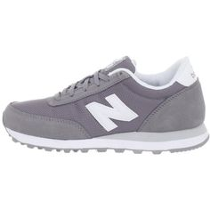 Amazon.com: New Balance Women's WL501 Sneaker,Grey/Silver,11 B US:... (1.880 UYU) ❤ liked on Polyvore featuring shoes, sneakers, shoes - sneakers, new balance, grey sneakers, new balance shoes, grey trainers, silver grey shoes and silver sneakers