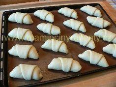 Šlehačkové rohlíčky Nutella, Pie, Bohemian, Sweet, Torte, Candy, Cake, Fruit Cakes, Pies