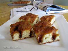 Brunsviger is a classic Danish coffee cake