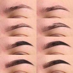 Make Up; Look; Make Up Looks; Make Up Augen; Make Up Prom;Make Up Face; Makeup Steps Source by sunnyzifer Eyebrow Makeup Tips, 90s Makeup, Makeup Blog, Girls Makeup, Makeup Inspo, Eyeshadow Makeup, Face Makeup, Prom Makeup, Makeup Eyebrows