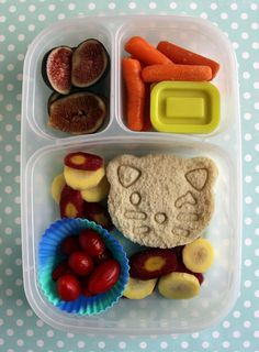 Summer Bento Wrap-Up - Easy Lunch Box Lunches - - Bento Ideas - Bento Ideas Easy Lunch Boxes, Box Lunches, Healthy School Lunches, Healthy Snacks, Back To School Lunch Ideas, Little Lunch, Lunch Containers, Cute Food, Recipe Of The Day