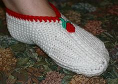 Free Knitting/Knitted Slippers Pattern