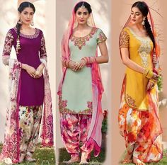punjabi Suits : visit us at https://www.facebook.com/punjbaibisboutique PINTEREST : @nivetas