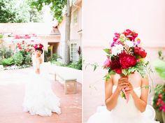 Adrienne Gunde Photography   Los Angeles Orange County Wedding Photographer » bougainvillea wedding