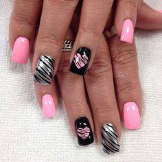 """""""For the love of animal ❤️"""" Photo taken by @professionalnailss on Instagram, pinned via the InstaPin iOS App! http://www.instapinapp.com (05/17/2015)"""