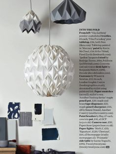 Pebble origami paper table lamp floor lamp pendant lamp shade pebble origami paper table lamp floor lamp pendant lamp shade white future home pinterest paper lamps origami paper and origami aloadofball Image collections
