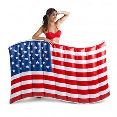 Pool Float - American Flag from Shop Southern Roots TX