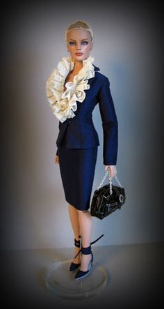 Rhapsody in Bleu by Madeleine Rose Couture