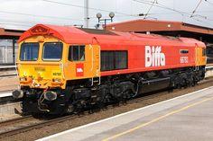 GB Railfreight Class 66 diesel Electric locomotive