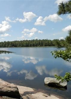 Camping in Ontario's Bon Echo Provincial Park's backcountry canoe-in site. Travel And Tourism, Travel Destinations, Canoeing, Nova Scotia, Campsite, Outdoor Travel, The Great Outdoors, Ontario, Places To Visit
