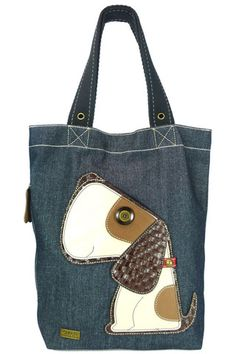 Toffy Dog Simple Tote in Denim