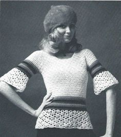 Vintage Flair 1970s Pullover by DesignsbyDEWaltz on Etsy, $3.95