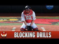 Catching 101 - Baseball Catcher Blocking Drills - YouTube