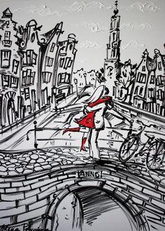 Nu in de #Catawiki veilingen: Elena Polyakova - Together in Amsterdam
