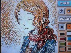 Claire - Professor Layton. I am in awe at this because I can barely write my logic to the puzzles on the note function.