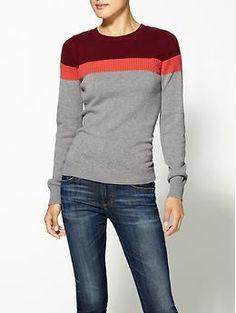 Hive & Honey Logan Stripe Pullover - $39.50