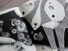 fox by Yulia Moschinetskaya, via Behance