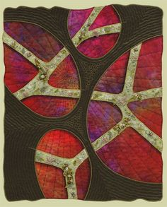 """Image of quilt titled """"Happy Trails"""" by Sonia Grasvik"""