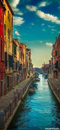 Venice, Italy Amazing World beautiful amazing
