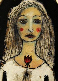 Tyttö ja ruusu