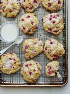 Best Honeyed Grapefruit Oat Scones Recipe on Pinterest