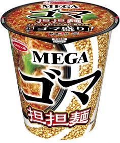 ゴマの香ばしい味わいをとことん高めたカップ麺MGEAゴマ担担麺が新発売