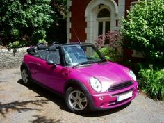 Mini 1 Convertible RAZR Pink