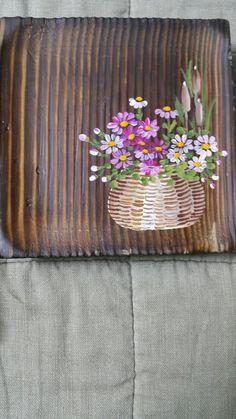 찻잔 받침대고제 찻잔받침대 가로10 세로10 앙징스런 찻잔받침대 지인이 주문하신~ Fabric Painting, Diy Painting, Painting On Wood, Art Floral, Wood Tags, Color Magic, Sewing Art, Small Paintings, Art Classroom