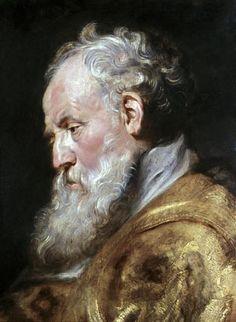 Saint Ambrose - Peter Paul Rubens