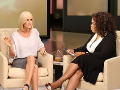 Jenny McCarthy is set to launch her own talk show with the help of TV's queen of talk Oprah Winfrey. The former Playboy Playmate has signed a deal with Winfrey's Harpo Productions to develop several different projects, including a syndicated talk show. Oprah Winfrey Show, Jenny Mccarthy, Relationship Advice, Relationships, Running For President, Playboy Playmates, Gossip News, The Help, Presidents