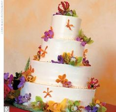 Cake? If wedding is in spring/summer...